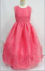 New Girl National Pageant dress Wedding Recital Party Formal size 4 6