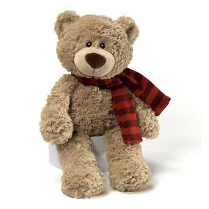 GUND bear 16 BARTON HUGGABLE SOFT plush stuffed animal new for FALL