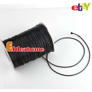 Multi Colors Useful Charms Waxed Cotton Cords 2mm Dia For Jewelry
