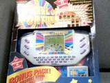1998 TIGER ELECTRONICS WHEEL OF FORTUNE W/#9 CART ~USED |