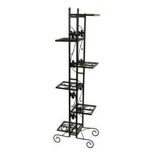 Oakland Living 6 Level Plant Stand, Black 5199 BK