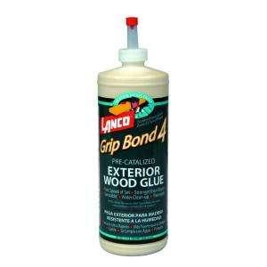 Lanco Grip Bond Four 32 Fl. Oz. Pre Catalyzed Exterior Wood Glue