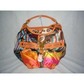 George Gina & Lucy Handtasche Tasche SHINY LOTUS orange butan Seide