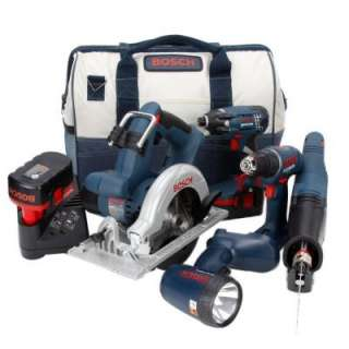 Bosch 18 Volt Ni Cad 5 Tool Compact Tough Combo Kit CPK51 18 at The
