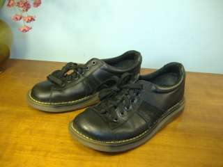 CAPTIVATING DR MARTENS DMS Black Leather Oxford Shoes 5