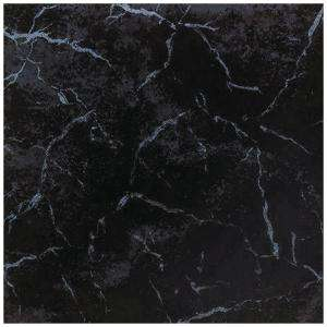 Tile Oton 12 1/2 in. x 12 1/2 in. Negro Ceramic Floor and Wall Tile