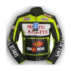 Motorrad Jacke Motorradjacke Leder Valentino Rossi 46  Auto