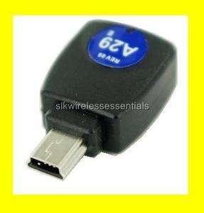 iGo MINI USB Tip A29 FOR BLACKBERRY MOTOROLA HTC PHONES