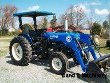 Ford New Holland 3930 Diesel Farm Tractor With Loader 529 Hours |