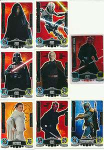Force Attax Star Wars Serie 3 *Force Meister,Nr. 234   240 LE5 in 3D