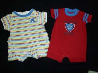 BOY size NEWBORN NB SUMMER OUTFIT CLOTHES LOT infant Preemie