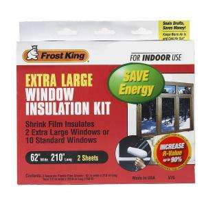 Frost King E/O 62 in. x 210 in. Polyurethane Extra Large Shrink Window