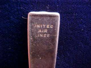 VTG UNITED AIRLINE Intl Silver Co Tea coffee Spoon NR