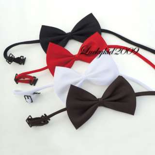 Cute Fashion Adjustable Collar Bowtie Necktie Bow Tie for Pet Dog Cat