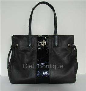 Authentic COACH 18962 Chelsea Leather CHARLIE Black Tote Bag