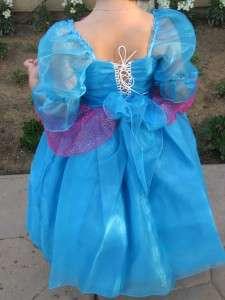 NEW girl princess boutique dress up costume size 2 4 6 ALL PRINCESS