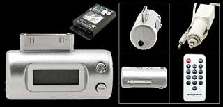 FM Transmitter+Remote Control+Car Charger iPhone 4 4G