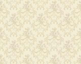 Chateau II 6481 50 Barock Ornament Tapete creme weiß