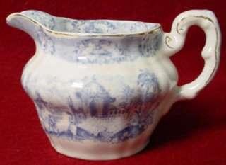 RIDGWAY china ORIENTAL pttrn CREAMER cream pitcher JUG