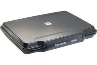 PELICAN 1095 BLACK HARDBACK CASE FOR 15 LAP TOPS WITH FOAM STRAP