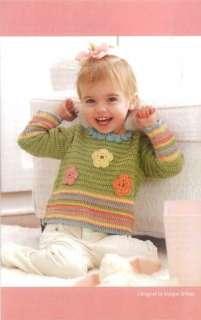 CROCHET Patterns Baby Toddler Blanket Vest Bag Tops