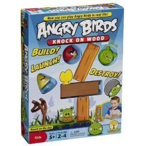 ANGRY BIRDS: KNOCK ON WOOD  BOARD GAME : BRAND NEW  SHIP FAST