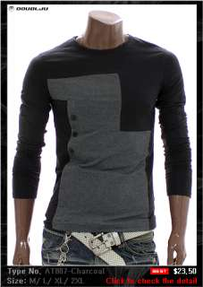 Unghea Mens Casual BEST longsleeve Tshirts Collection 1