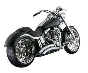 VANCE & HINES BIG RADIUS AUSPUFF Harley FXST Softail 87 11