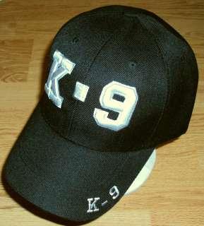 DELUXE K 9 K9 POLICE DOG UNIT BASEBALL BALL CAP HAT O/S
