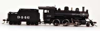 Bachmann HO Scale Train 2 6 0 Alco Steam Loco DCC Ready Atsf #9446