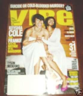 VIBE MAGAZINE MARCH 2009 KEYSHIA COLE & FRANKIE STYLE