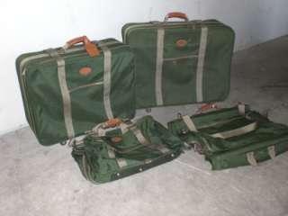 DAKOTA TUMI Suitcase Garment Bag Carry On 4 Piece Set