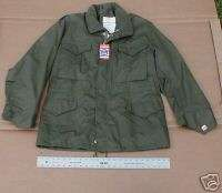 USA MADE QUALITY MILITARY FIELD JACKET GREEN XS,S AND MED. SIZES