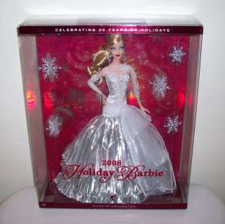 2008 Holiday Barbie Doll Collector Christmas Carol MIB