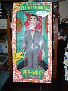 1987 MATCHBOX PEE WEE HERMAN DOLL IN A GOOD BOX