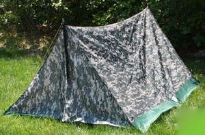 Army ACU Digital Camouflage Military 2 Man Camping Trail Tent