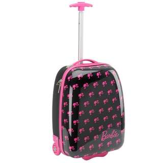 BARBIE♥Hard Shell Rolling Luggage Case ♥♥NWT