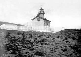 SANTA BARBARA Lighthouse LOST LIGHT COLLECTION Lefton