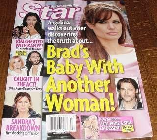 Jolie Brad Pitt Kim Kardashian Katy Perry Sandra Bullock Holly Madison