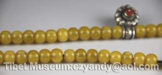 Wonderful Amazing Old Antique Tibetan Perfect MiLa Prayer Beads Museum