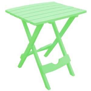 Adams Manufacturing 8500 08 3700 Quick Fold Side Table, Summer Green