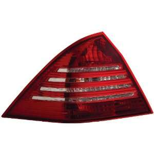 Anzo USA 221150 Mercedes Benz C230 Red/Clear Tail Light Assembly