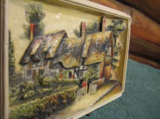 Vintage Plaque Ann Hathaways Cottage   Shattery
