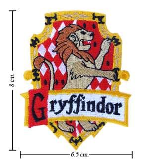 Harry Potter Gryffindor Costume ecusson patch brode deguisement