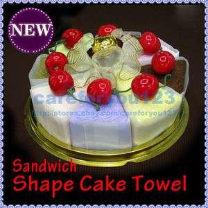 Fashionable Present Durable Lovely Sandwich Shape Household Cake