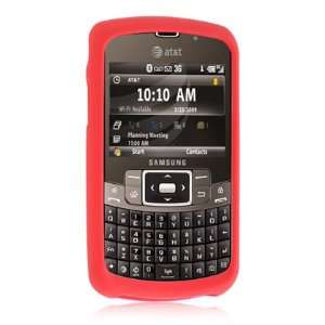 Red Premium Silicone Skin Cover Case Cell Phone Protector for Samsung
