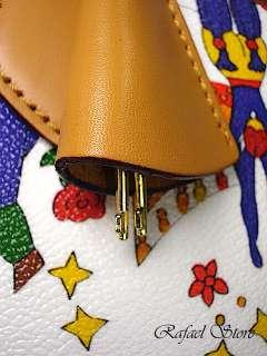 Borsa Tracolla Donna Bag PIERO GUIDI Magic Circus Bianca Elegante