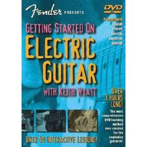 FENDER PRES GETTING STARTED ELECTRIC GUITAR Movies & TV