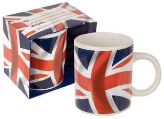 Novelty *Union Jack* Ceramic Mug *British*   11 Oz GREAT GIFT