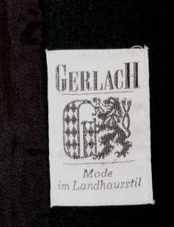 BLACK WOOL Women German Winter Western COAT Jacket 14 L